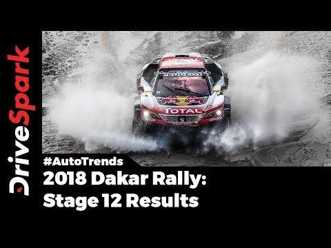 2018 Dakar Rally Stage 12 Results - DriveSpark