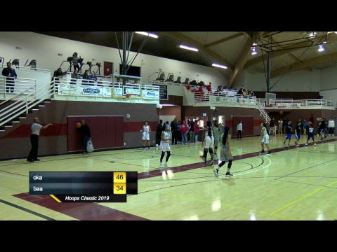 Hoops Classic 2019 (Oakwood Adventist Academy vs Burton Adventist Academy)