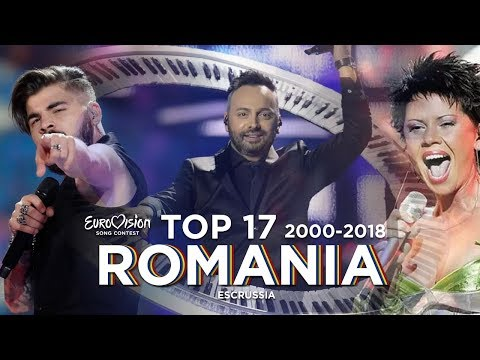 Romania in Eurovision - Top 17 (2000-2018)