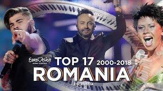 Romania in Eurovision - Top 17 (2000-2018)