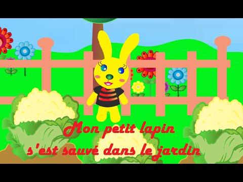 Comptine mon petit lapin comptine pour petits et grands - Mon petit lapin s est cache dans le jardin ...