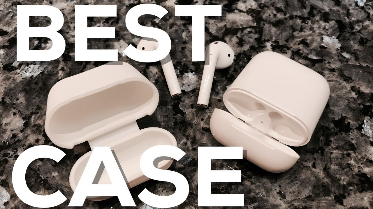 promo code 889e8 6fa60 BEST CASE for Apple AirPods! REVIEW (PodSkinz AirPods Case Protective  Silicone Cover and Skin)