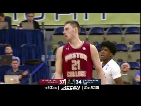 Boston College vs Pittsburgh Panthers College Basketball Condensed Game 2018