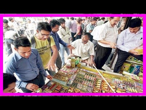 Bombay hc upholds ban on sale of firecrackers in residential areas Breaking News Today