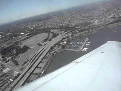 US Airways LaGuardia Airport - New York City - Takeoff (LGA) Citi Field Views