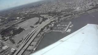 US Airways LaGuardia Airport - New York City - Takeoff (LGA) Citi Field Views