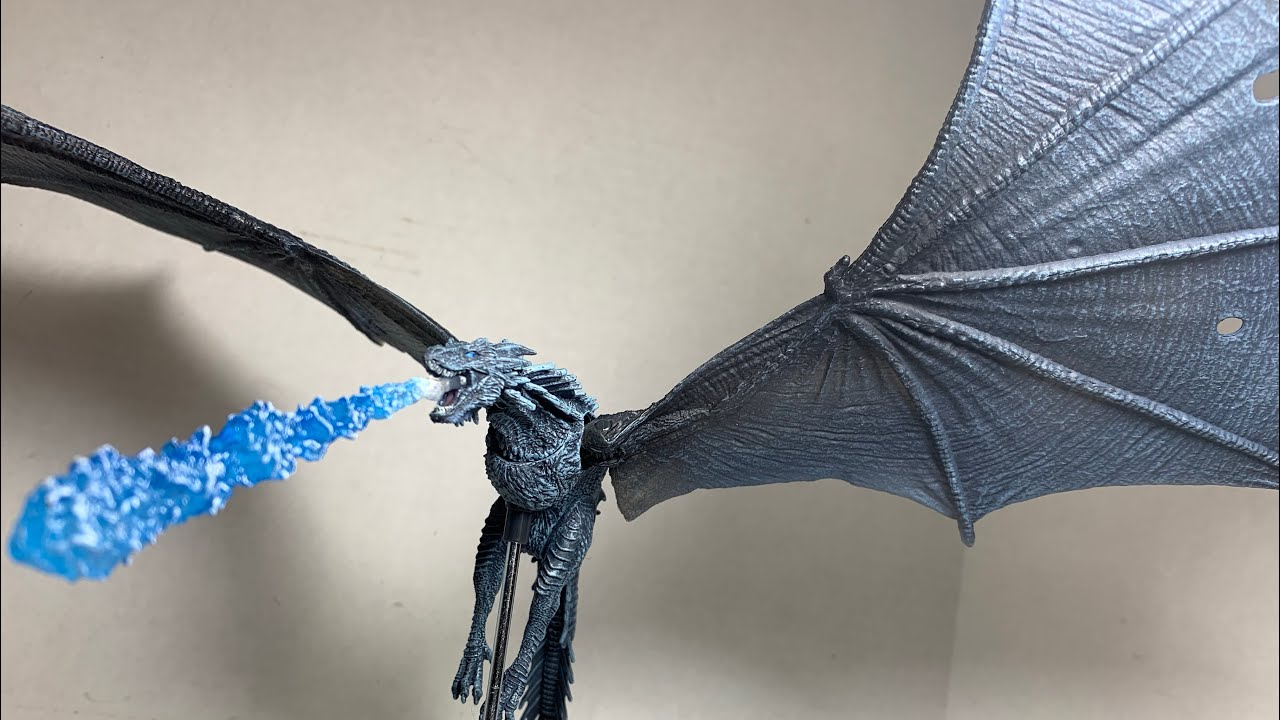 Game of Thrones Viserion Ice Dragon Deluxe Action Figure Box Mcfarlane