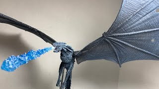Game of Thrones McFarlane Toys Viserion Ice Dragon Deluxe Action Figure Review