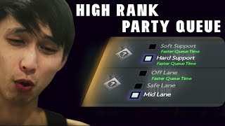 NEW HIGH LEVEL PARTY QUEUES (SingSing Dota 2 Highlights #1408)