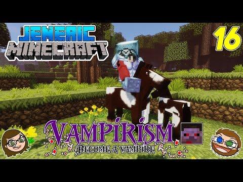 "JenEric Minecraft: INTO THE VAMPIRE'S LAIR! - Vampirism ""Hunters"" (S2Ep16)"