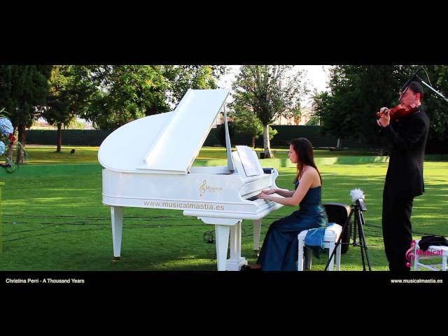 Christina Perri - A Thousand Years COVER piano y violin