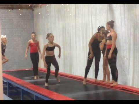 Dance Moms Girls Dancing and Doing Tricks at the ALDC LA Premiere (grand opening)