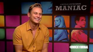 Billy Magnussen Talks New Netflix Show 'Maniac'