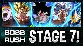 THE NEWEST STAGE OF BOSS RUSH IS HERE! STAGE 7! HOW HARD IS IT? (DBZ: Dokkan Battle)