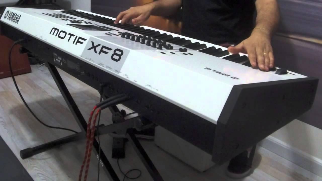 Yamaha Motif XF8 | Sound Programming