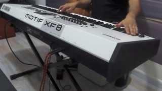 YAMAHA MOTIF XF8 WHITE , DEMO NA CLASSIC KEYBOARDS