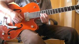 Brian Setzer - The Knife Feels Like Justice (Guitar Solo Tutorial Part 1)