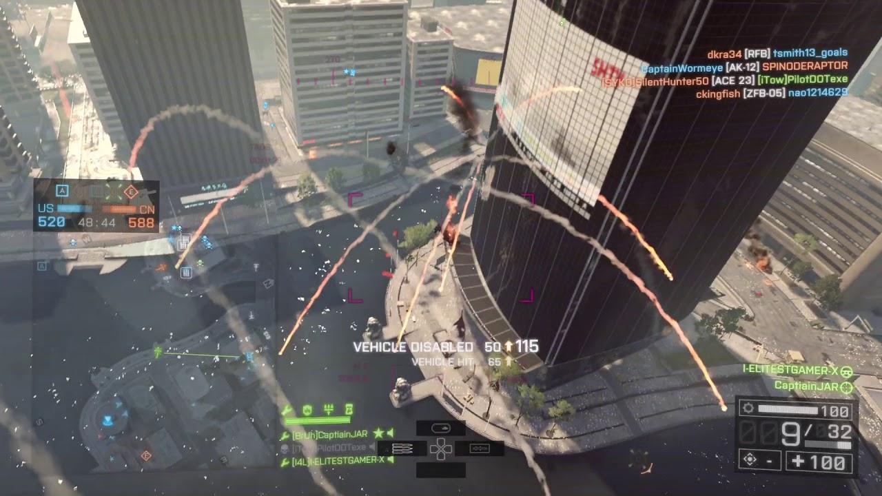 INSANE 215 KILLSTREAK #1 Attack Heli Gunner World (299,000 Kills) Battlefield 4