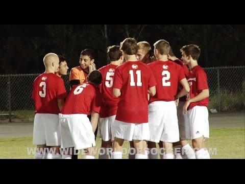 Wide World of Soccer: 2013.11.06 Wharton Tournament - Tampa Prep vs King