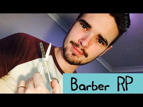 ASMR - Barber Roleplay - Shave, Haricut, Soft Spoken and Some Whipser