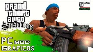 GTA San Andreas MOD Gráficos HD PC 1080 60 FPS