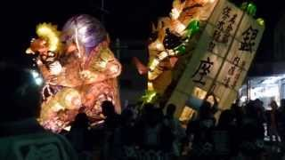 2013年の万燈祭(まんどまつり)の様子です。 銀座、広小路、広小路五組...