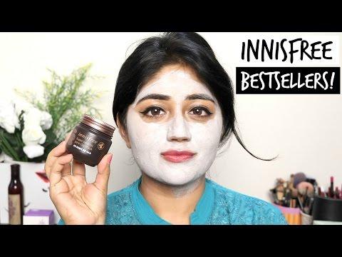 Innisfree Skincare Bestsellers REVIEW | corallista