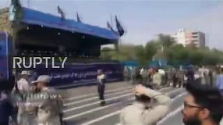 Iran: Several killed, 20 injured as gunmen attack military parade in Ahvaz