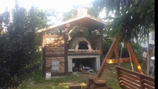 Repeat youtube video Piec chlebowy i wędzarnia / Oven bread and smokehouse.