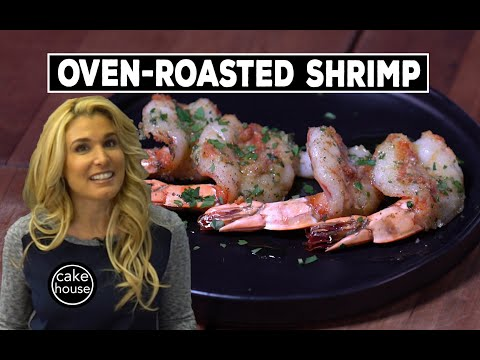 Tasty Oven-Roasted Shrimp - Cake Boss Lisa Style! | Lisa's Home Cooking Ep06