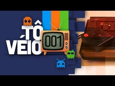 Tô Véio 001 - Atari 2600 - (A história dos video games) - Baixaki Jogos
