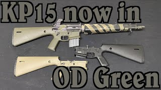 The KP-15: Now in OD Green for you Forest-Dwellers