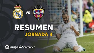 Resumen de Real Madrid vs Levante UD (3-2)