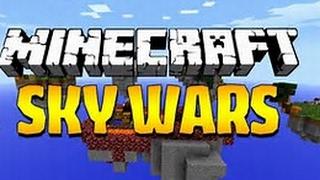 Minecraft - spannende Runden SKYWARS..