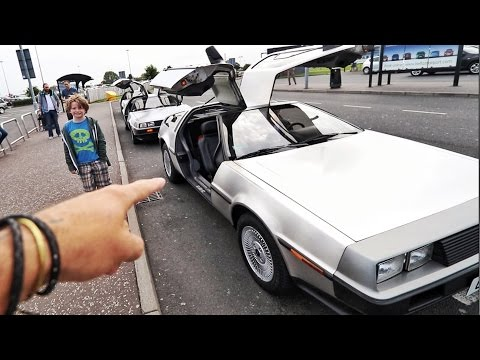 GOT A DELOREAN !!