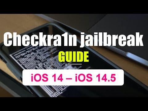 Checkra1n jailbreak for iOS 14 – iOS 14.5