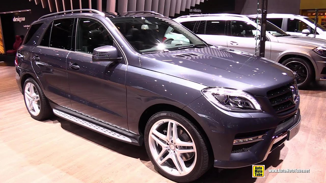 2015 mercedes benz ml250 bluetec 4matic sport exterior