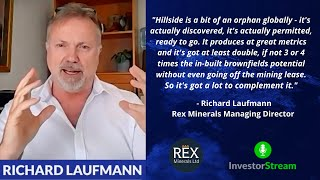 Investor Stream chats with: Rex Minerals Managing Director Richard Laufmann (January 21, 2021)