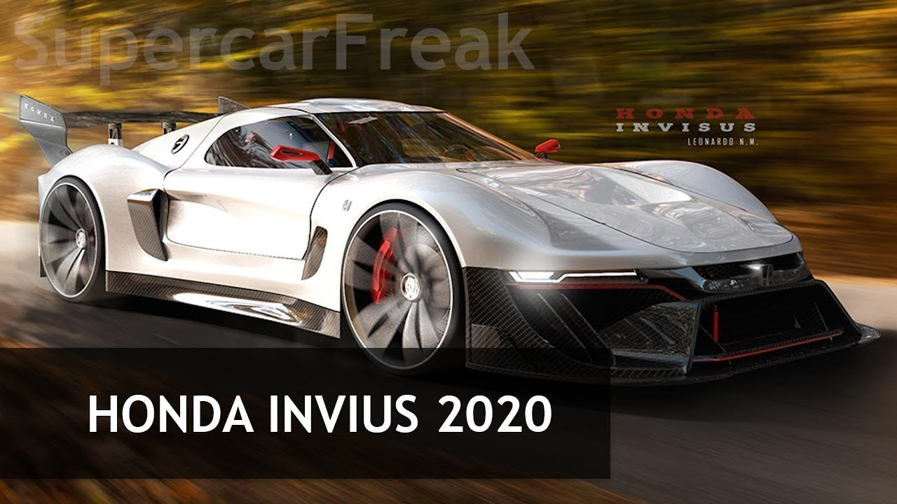 Designer Envisions A Track Only Honda Hypercar For Youtube