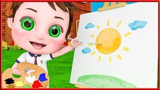 All Colors Song + More Nursery Rhymes   Kids Songs   BMBM Cartoon Song [HD]