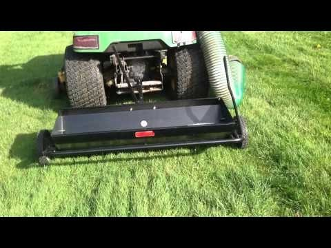 Review: Brinly Aerator-Spreader Home Depot