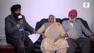290116 Sikh Channel Special Interview: Parents of Bhai Paramjit Singh Pamma