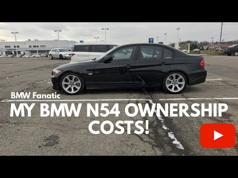 My BMW N54 135i 335i 535i Ownership Costs! Must See!