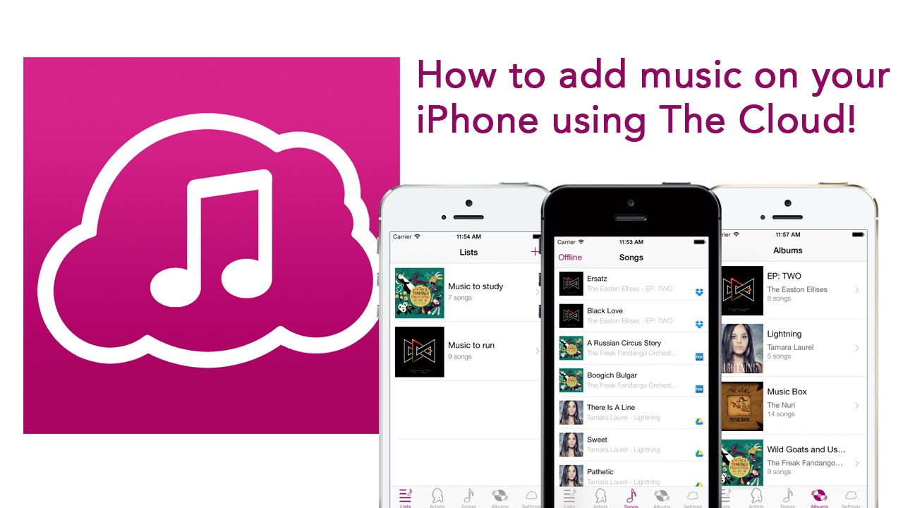 how to add songs to iphone how to add to iphone with cloud using dropbox 5556