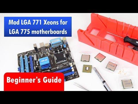 Смотрите сегодня видео новости Modding cheap LGA 771 Xeon Processors for  Socket 775 Motherboard на онлайн канале Russia-Video-News Ru