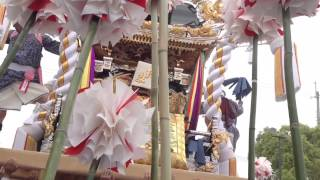 2015年5月3日 大塩天満宮 国恩祭 北脇丁 宮入り