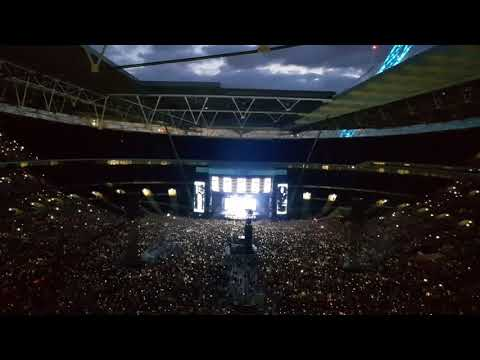 Ed Sheeran Perfect Symphony  With Andrea Bocelli Wembley 14th June 2018