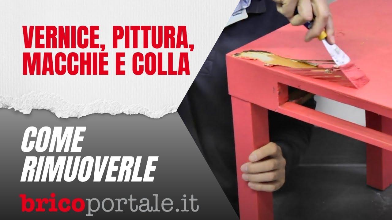 Come Rimuovere Vernice Pittura Macchie E Colla Efficacemente