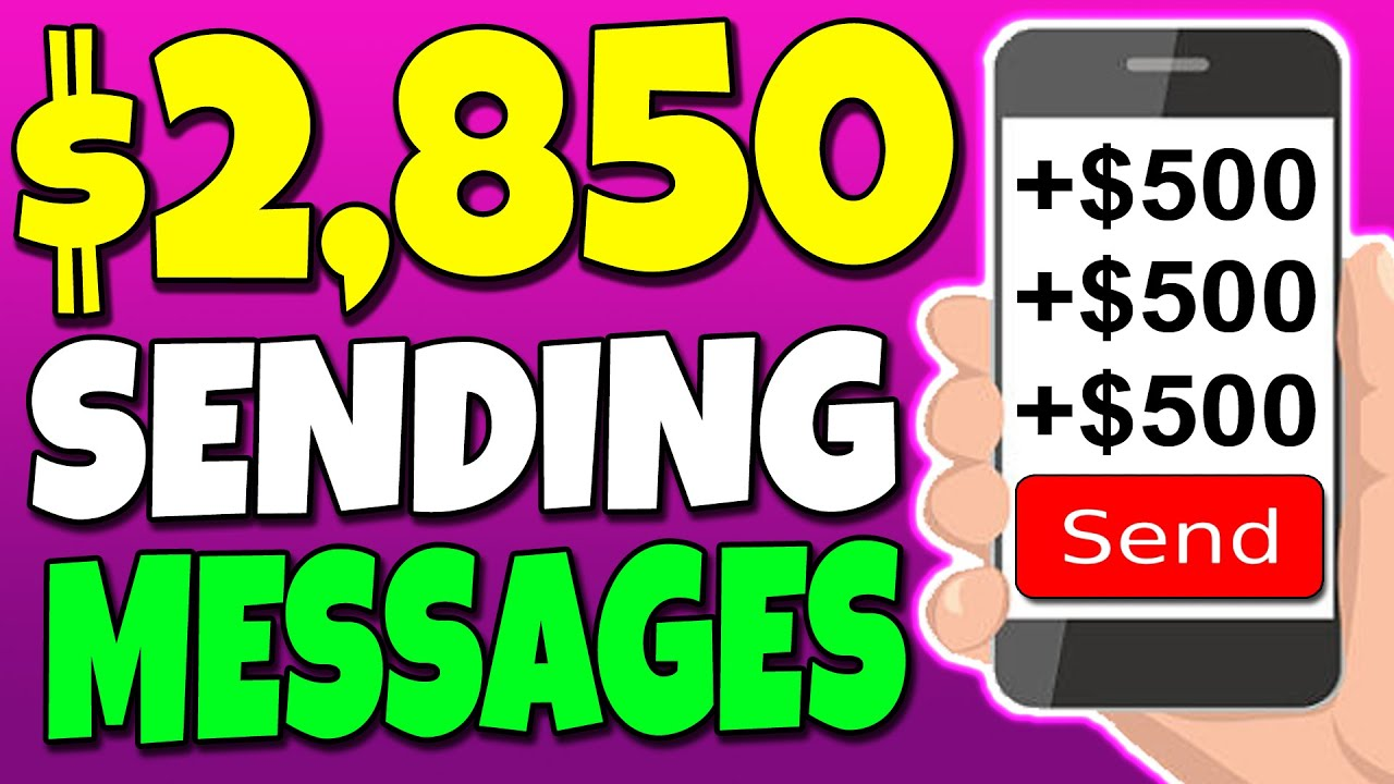 Make $500+ Per Message For Free Using Your Phone (Make Money Online)
