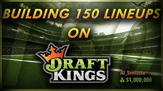 USING A LINEUP BUILDER TO IMPORT AND EDIT DRAFTKINGS LINEUPS